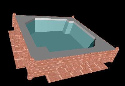 free hot tub 3d model