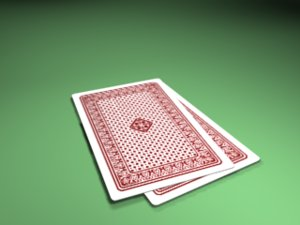 3d model cards holden pocker