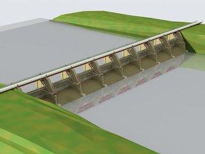 water dam bridge max