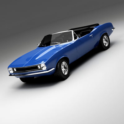 chevrolet camaro automobile 3d max