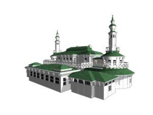 3d model of historic copenhagen