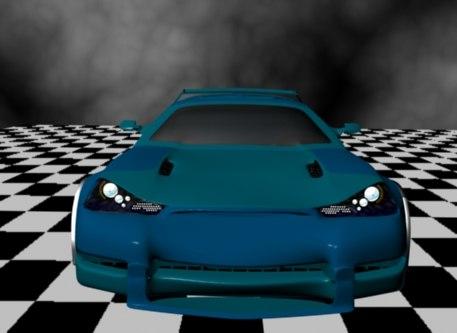 corvette chevrolet car 3d model