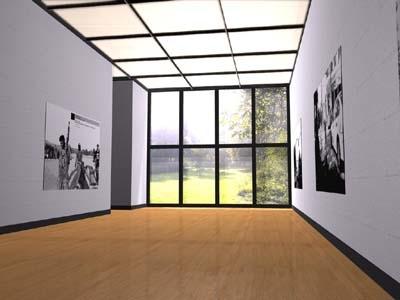 c4d museumsraum