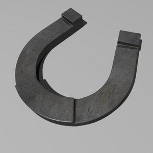 3d 3ds horseshoe horse