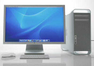 apple mac pro wireless 3d model