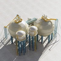 industrial module 3d max
