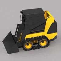 skid steer loader 3ds