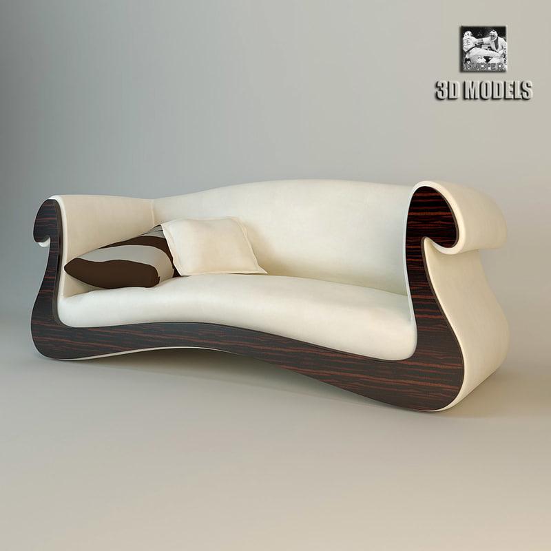 3d model treccani parisienne -