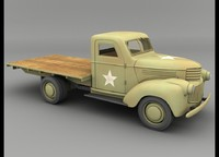 lightwave 1941 chevy army truck