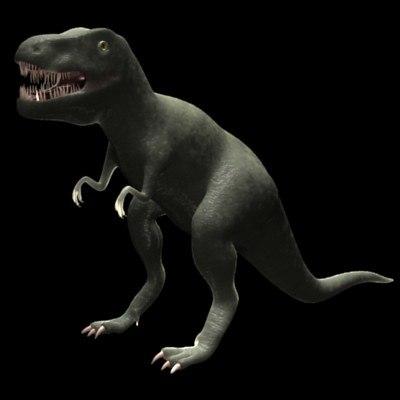 3d model dinosaur tyrannosaurs