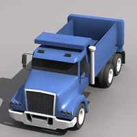 vhd truck 3d lwo
