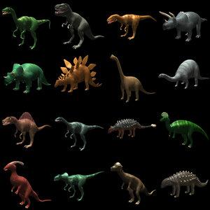 3d 16 dinosaur