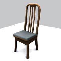 chair gibs broken 3d model