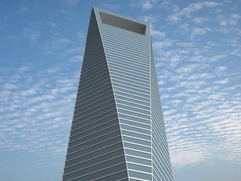 3d model shanghai world financial center