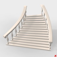3ds max staircase