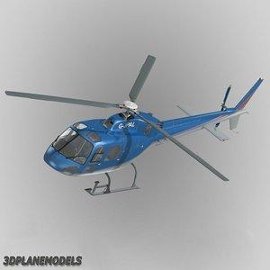 lightwave eurocopter jpm 355 helicopter