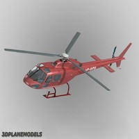 3d eurocopter private livery 355
