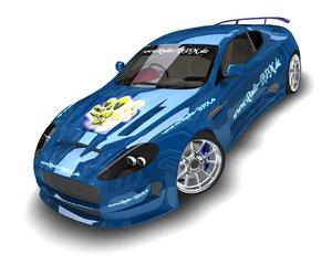 3d astin db9 model
