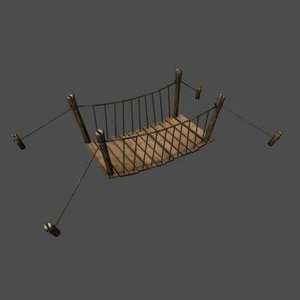 bridge fantasy 3d max