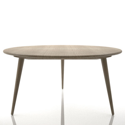 3d 3ds hans wegner ch008 table