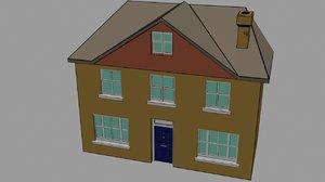house cartoon 3d max