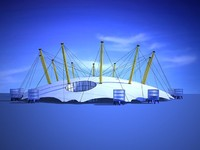 millennium dome 3d model