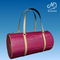 fashion designer bag - 3d model