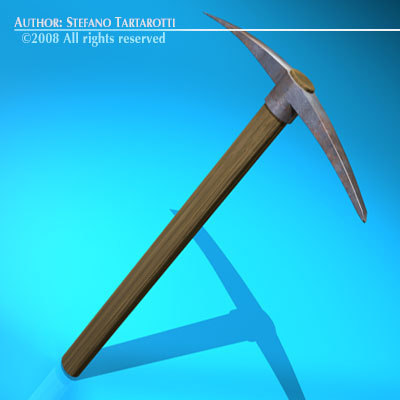 3ds max pick axe