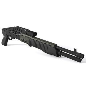 3d model franchi spas-12 shotgun 12 gauge