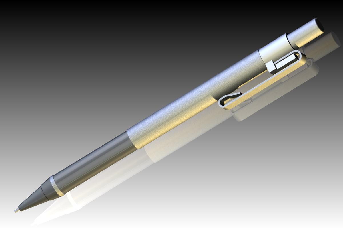 mechanical pencil 3d 3ds