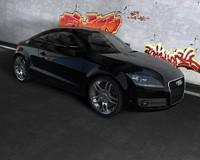Audi TT 2007 C4D.rar