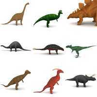 herbivorous dinos 3d 3ds