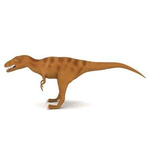 3d dinosaur allosaurus