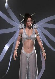 3d model girl female fantasy