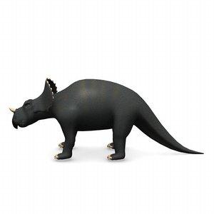 3d dinosaur avaceratops