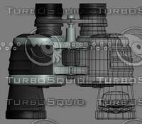 3d model binocular