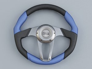 3d isotta zulag steering wheel