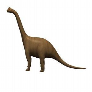 3ds max brachiosaurus