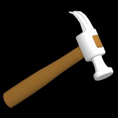 hammer clawhammer 3d model