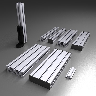 max aluminum beams construction