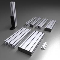 max aluminum beams construction