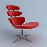corona chair 3d model