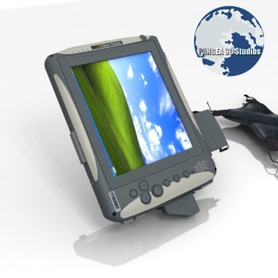 3d itronix duo touch tablet