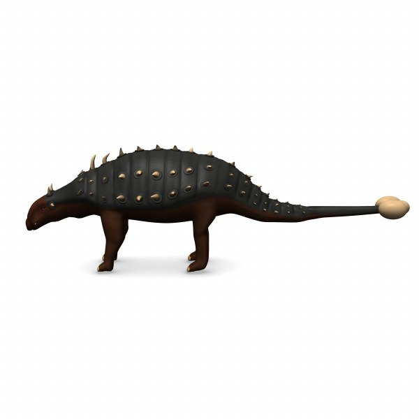 euoplocephalus 3d model