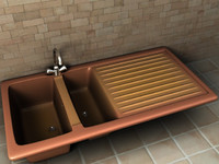 3ds max kitchen sink