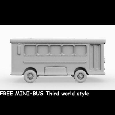 3dsmax auto bus