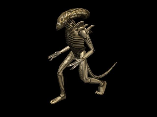 free fbx model alien