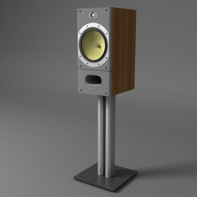 speakers b w 3d 3ds