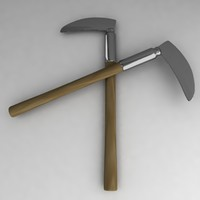 3d kama asian weapon