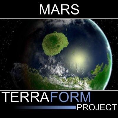 3ds max mars terraformed version 2